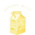 Bananenmilch - Milchkartonästhetik von ourtinyinfinite