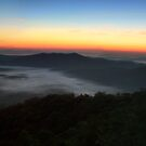 Before Dawn in Pisgah by middleofaplace