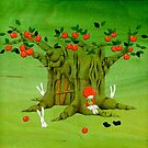 Apple Tree House by naokosstoop