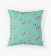 Bean Sprouts botanical illustration design - Sprout logo 2 Floor Pillow