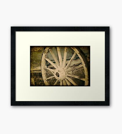 Aged Transport Framed Print