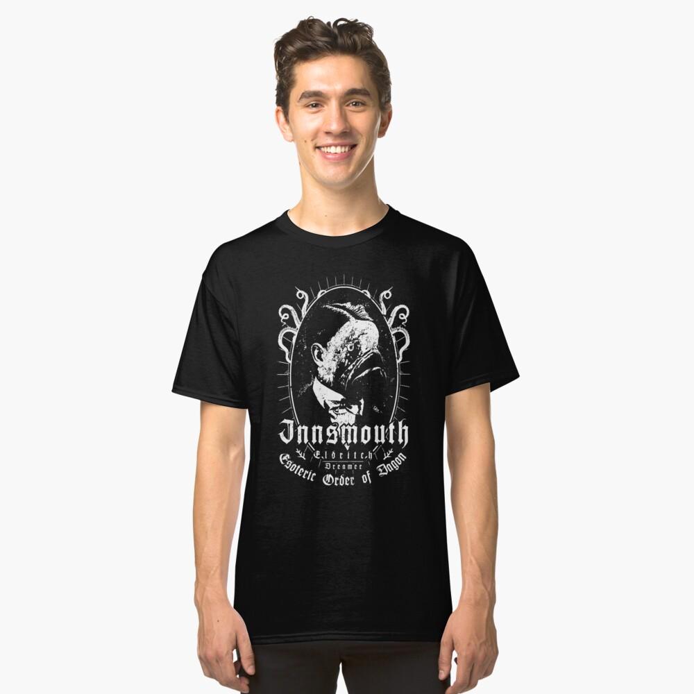 Innsmouth - Esoteric Order of Dagon - Eldritch Dreamer - Lovecraftian mythos wear Classic T-Shirt
