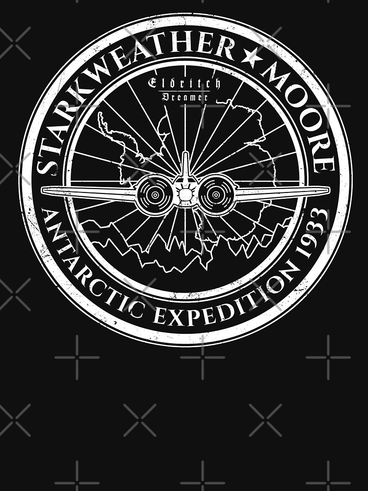 At the Mountains of Madness - Starkweather Moore Expedition - Eldritch Dreamer - Lovecraftian mythos wear von eldritchdreamer