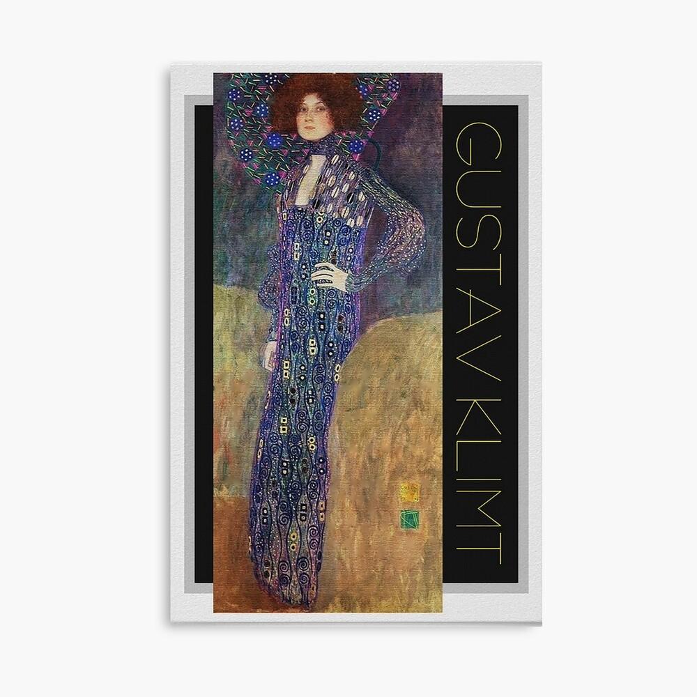 Art Nouveau Jugendstil by Gustav Klimt Canvas Print