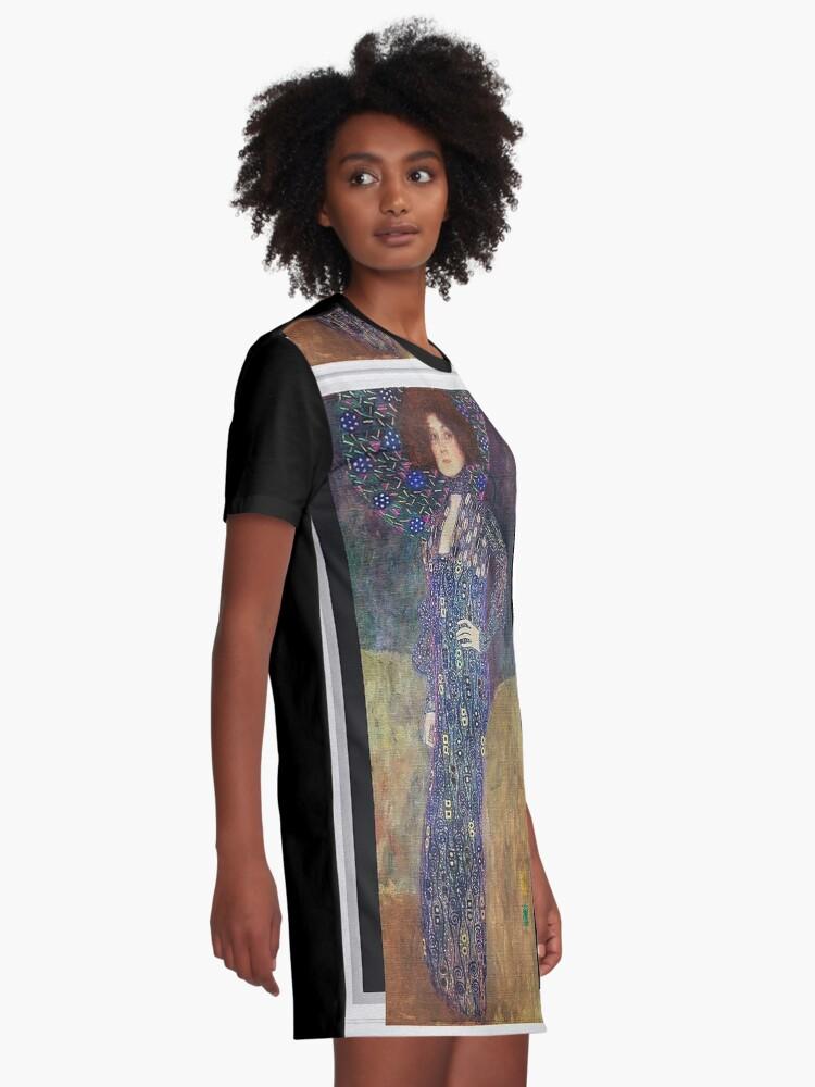 Alternate view of Art Nouveau Jugendstil by Gustav Klimt Graphic T-Shirt Dress