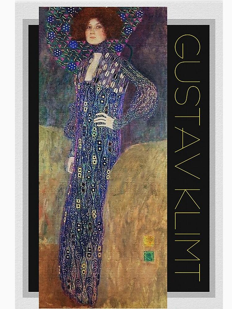 Art Nouveau Jugendstil by Gustav Klimt by edsimoneit
