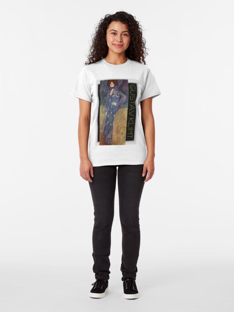 Alternate view of Art Nouveau Jugendstil by Gustav Klimt Classic T-Shirt