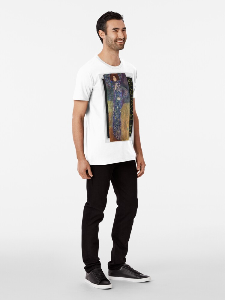 Alternate view of Art Nouveau Jugendstil by Gustav Klimt Premium T-Shirt