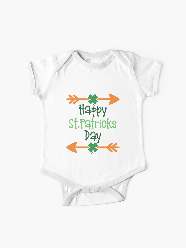 Happy St  Patricks day, funny Patrick's day humor, jokes, puns, banter,  party ideas, good vibes | Baby One-Piece