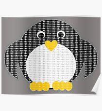 Penguin - Binary Tux Poster