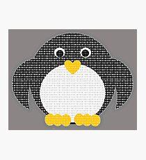 Penguin - Binary Tux Photographic Print