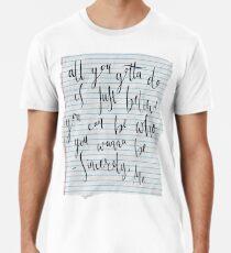 Lieber Evan Hansen - Mit freundlichen Grüßen Männer Premium T-Shirts