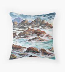 Shoreline Tasmania Throw Pillow