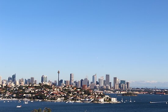 The City of Sydney from Afar by kseny003