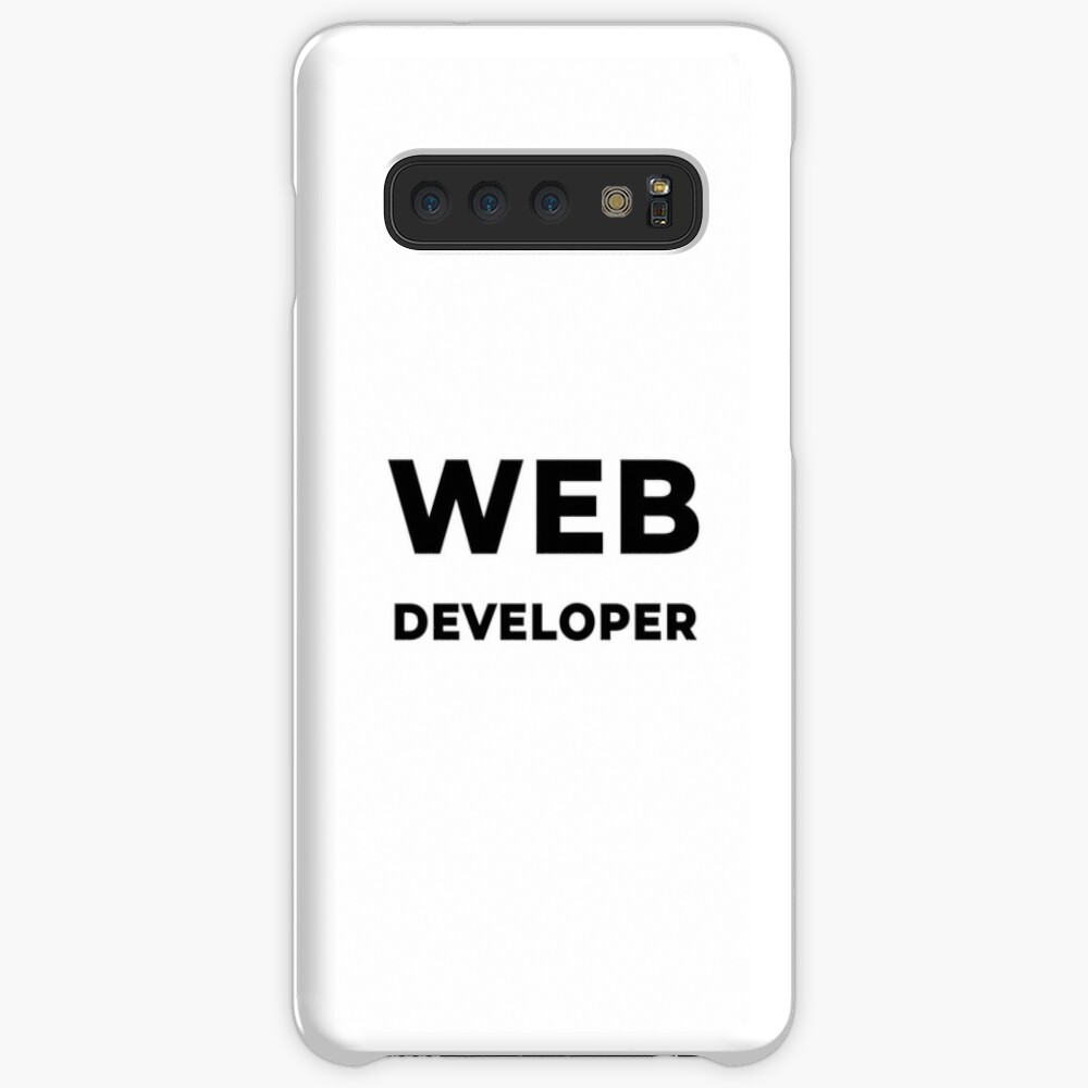 Web Developer (Inverted) Case & Skin for Samsung Galaxy