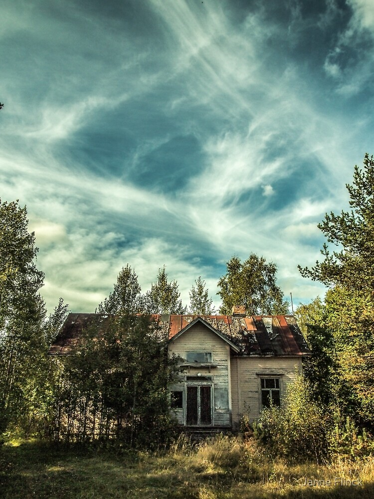 Old House Sky by Janne Flinck