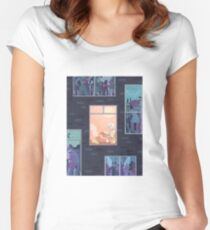 exam period Women's Fitted Scoop T-Shirt