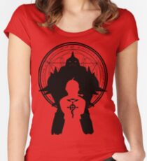 Camiseta entallada de cuello ancho Alquimista de FM
