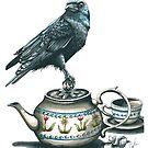 «  4 o'clock: It's tea time » par Catherine Plante