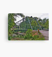 Metal Bridge Canvas Print