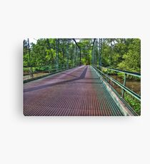Metal Bridge 2 Canvas Print
