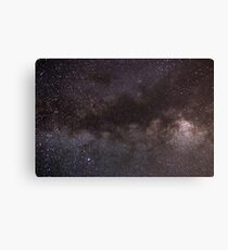 Artistic Photography of Dark Charming Starry Sky Canvas Print