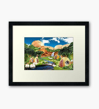 Vegie Heaven Framed Print