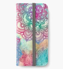 Round and Round the Rainbow iPhone Wallet/Case/Skin