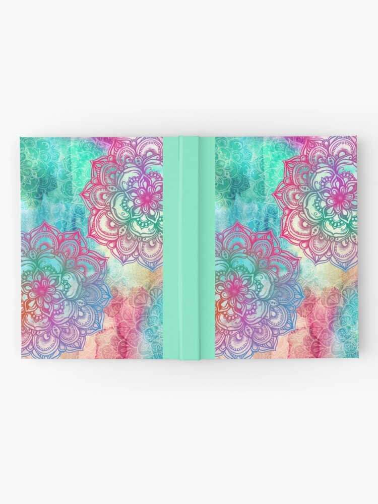 Alternate view of Round and Round the Rainbow Hardcover Journal