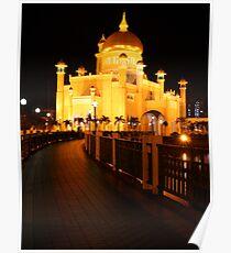 Sultan Omar Ali Saifuddin Mosque, Brunei 2 Poster