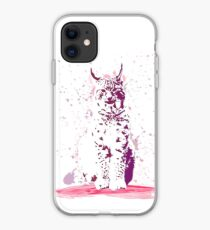 The Lynx – A Face of Wisdom iPhone Case