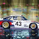 Porsche 935 Coupe Moby Dick by Yuriy Shevchuk