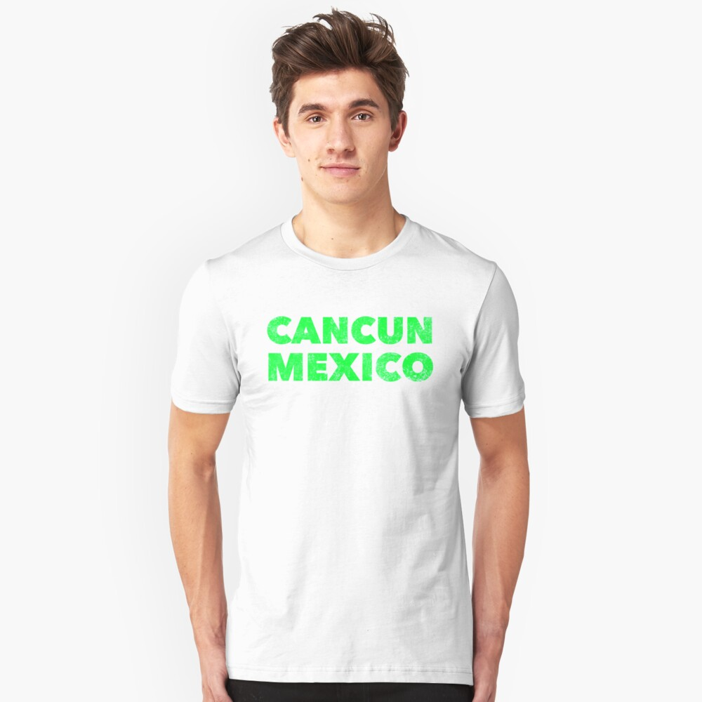 Cancun Mexico - Spring Break Party Design Unisex T-Shirt