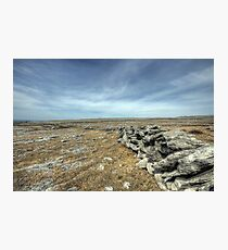 Burren Walls Photographic Print