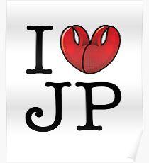 Ich liebe JP Poster