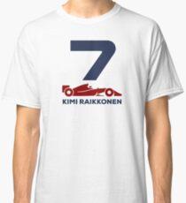 Kimi Raikkonen F1 2019 ( HD) Classic T-Shirt