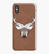 Deer abstraction iPhone Case/Skin