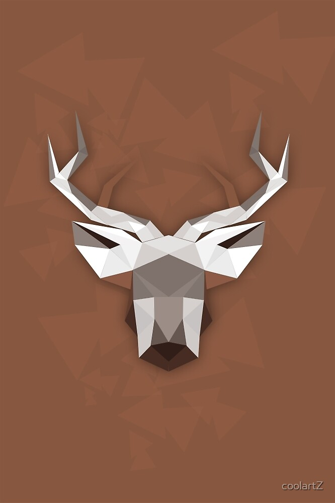 Deer abstraction by coolartZ