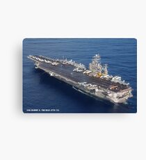 USS HARRY S. TRUMAN (CVN-75) Canvas Print