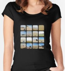Beach Collective - TTV Women's Fitted Scoop T-Shirt