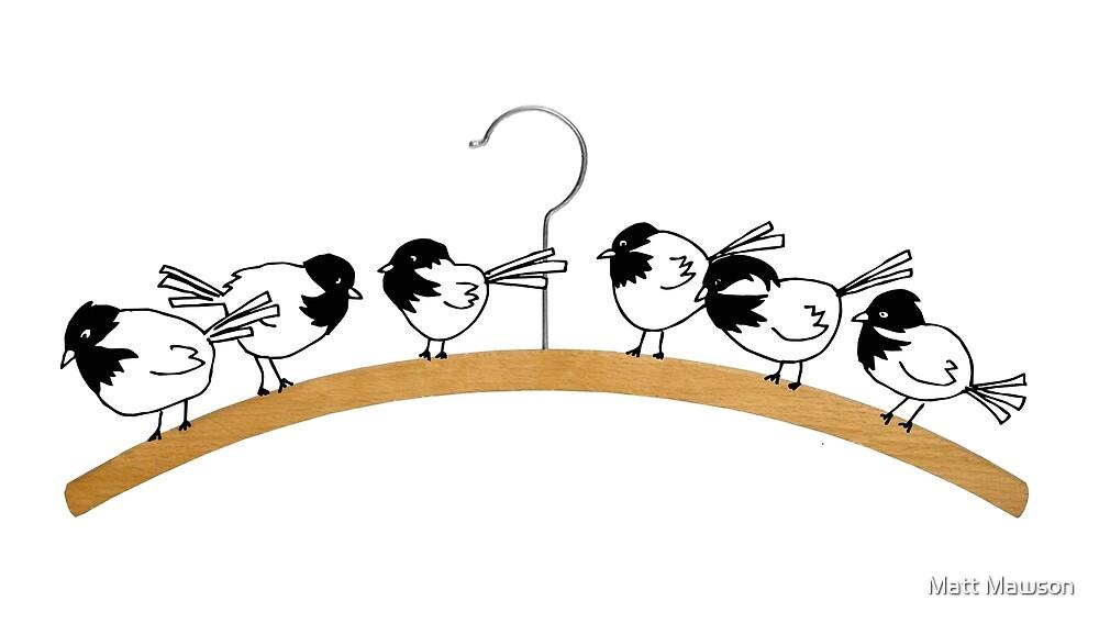 Chickadees by Matt Mawson