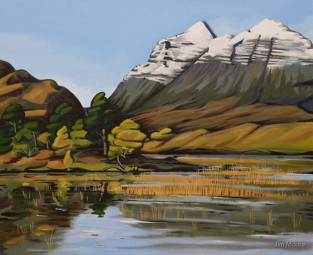 Liathach by Jim Moore