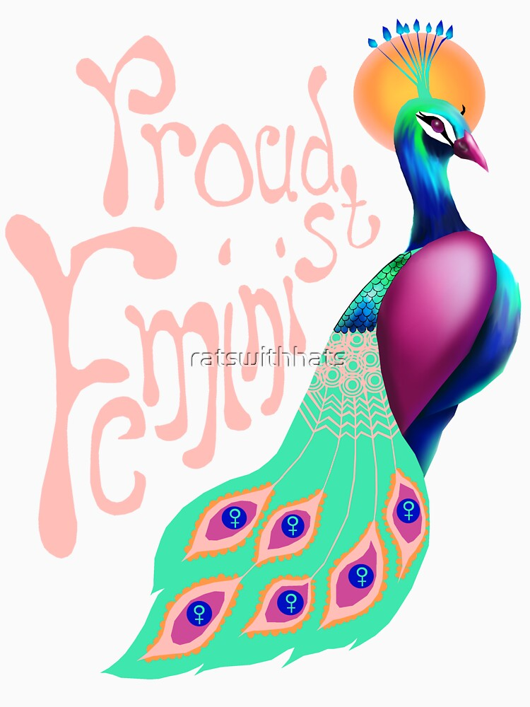Feminist Peacock by ratswithhats