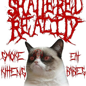 Shattered Reality Cat by lolthatsfunny1