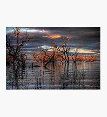 Lake Pamamaroo Photographic Print