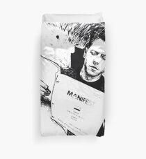 Josh Dallas, Manifest script edit Duvet Cover
