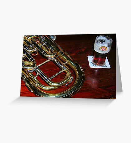 Musical Cheers Greeting Card
