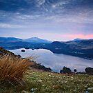 Pre-Sunrise Glow - Derwent Water, Cumbria by David Lewins