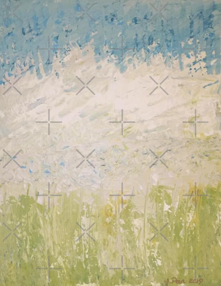 """""""Sleepy Dunes"""" abstract art by Jody Pear by jodypeardesigns"""