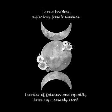 I am a Goddess ~ #EmpowerCreativity by ApricotBlossom